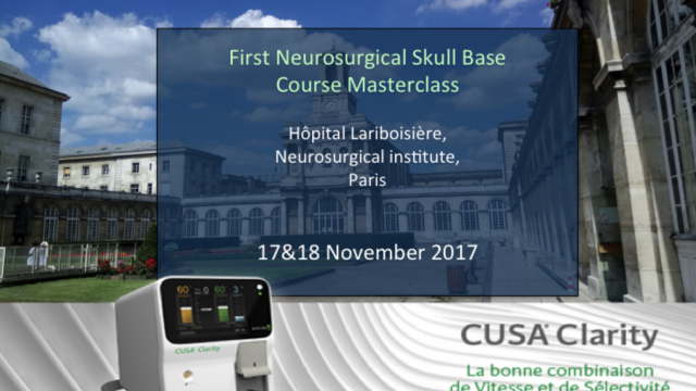 First Neurosurgical Skull Base Courses